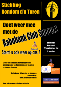 Stem op ons Rabobank Club Support