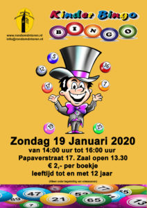 Kinder BINGO @ Oude Gymzaal